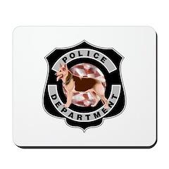 K9 Police Department Mousepad