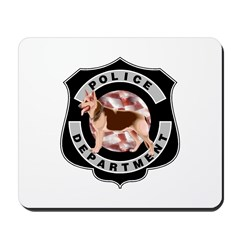 K9 Police Department Mousepad