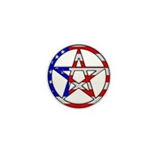 American Witch Mini Button