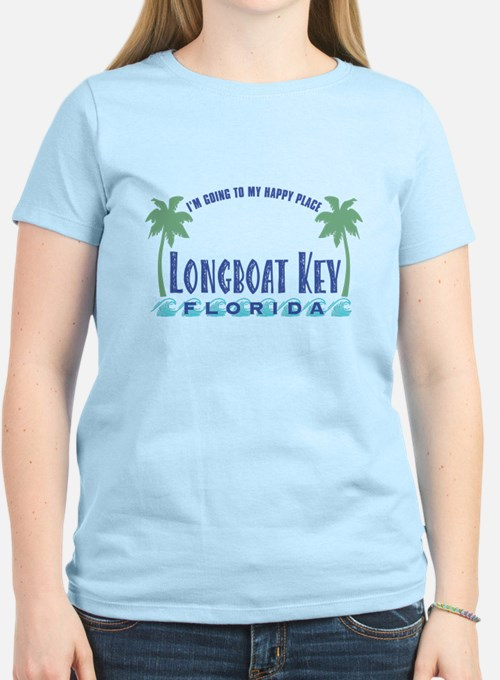 Longboat Key Happy Place - T-Shirt