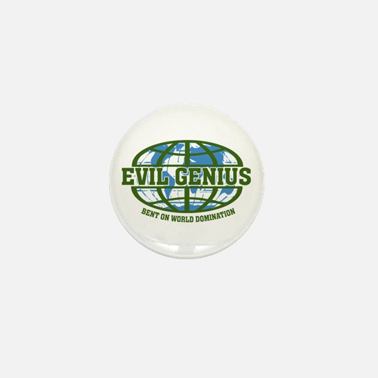 Evil Genius Mini Button