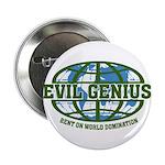 """Evil Genius 2.25"""" Button (10 pack)"""