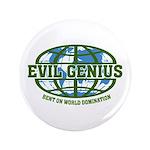 """Evil Genius 3.5"""" Button"""