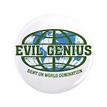"""Evil Genius 3.5"""" Button (100 pack)"""