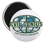 """Evil Genius 2.25"""" Magnet (10 pack)"""
