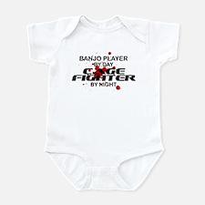 Banjo Plyr Cage Fighter by Night Infant Bodysuit
