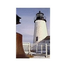 Pemaquid Point Light Rectangle Magnet