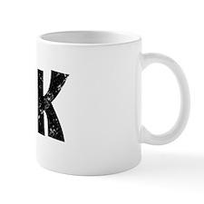 """Black """"DORK"""" Mug"""
