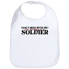 Cute Army kid Bib