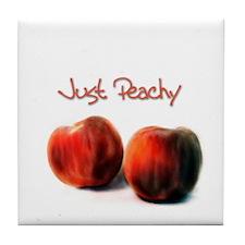 Just Peachy - Tile Coaster