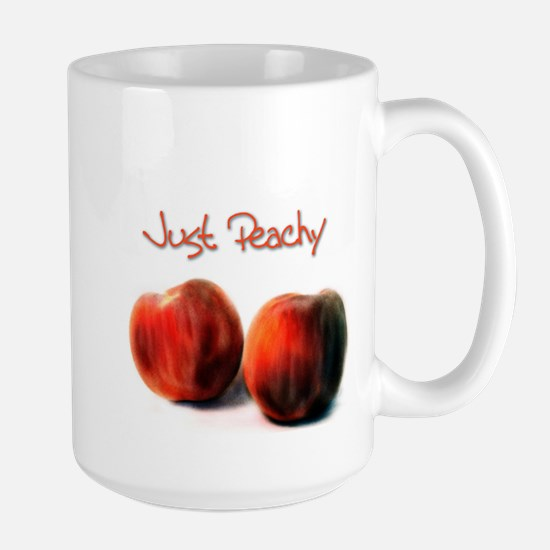 Just Peachy - Large Mug