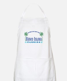 Marco Island Happy Place - BBQ Apron