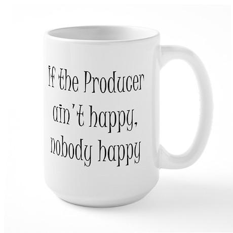 Producer happy Large Mug