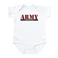 Cute Army son Infant Bodysuit