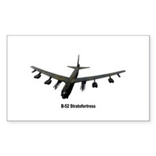 B-52 Stratofortress Rectangle Decal