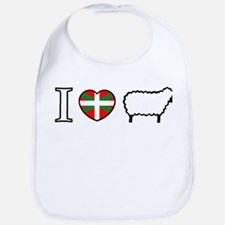I <heart> Sheep Bib