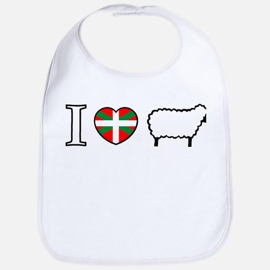 I <heart> Sheep Bib