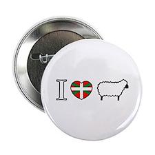 I <heart> Sheep Button