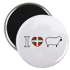 I <heart> Sheep Magnet