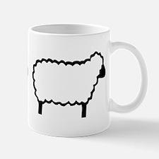 I <heart> Sheep Mug