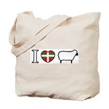 I <heart> Sheep Tote Bag