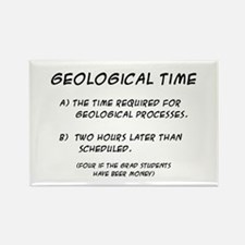 Geological Time Rectangle Magnet