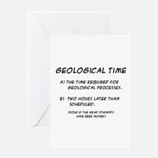 Geological Time Greeting Card
