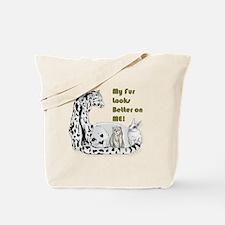my fur Tote Bag