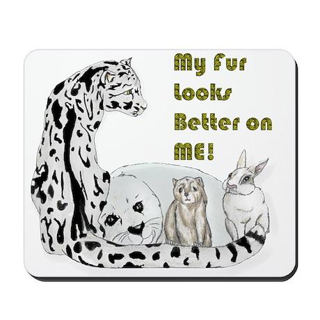 my fur Mousepad