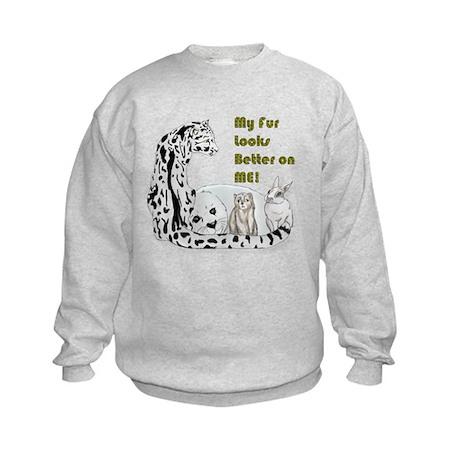 my fur Kids Sweatshirt