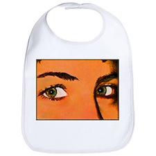 Green Eyes - Bib