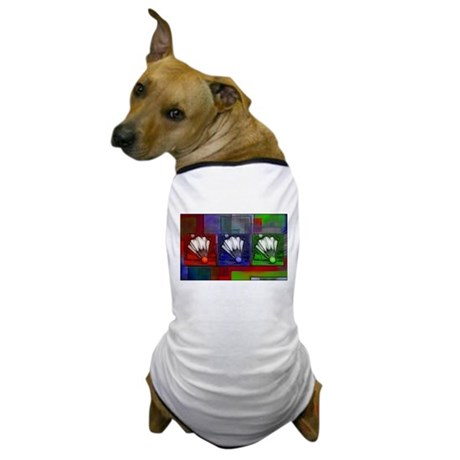 Shuttlecocks RBG - Dog T-Shirt