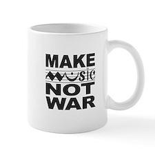 Make Music Not War Mug