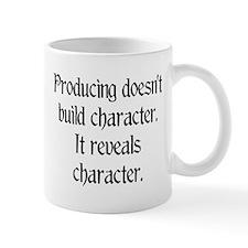 Producing reveals character Small Mug