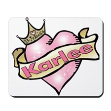 Personalized Princess Karlee Mousepad