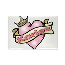 Personalized Princess Karlee Rectangle Magnet