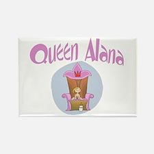 Baby Queen Alana1 Rectangle Magnet