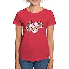 Princess Karlee tattoo heart Tee
