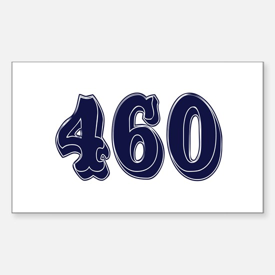 460 Rectangle Decal