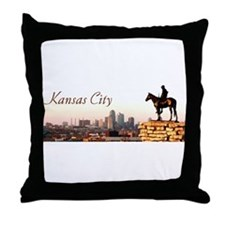 Kansas City Scout - Throw Pillow