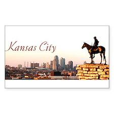 Kansas City Scout - Rectangle Decal