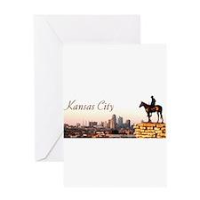Kansas City Scout - Greeting Card