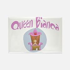 Baby Queen Bianca Rectangle Magnet