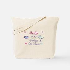 Grandpa's Princess Amber Tote Bag