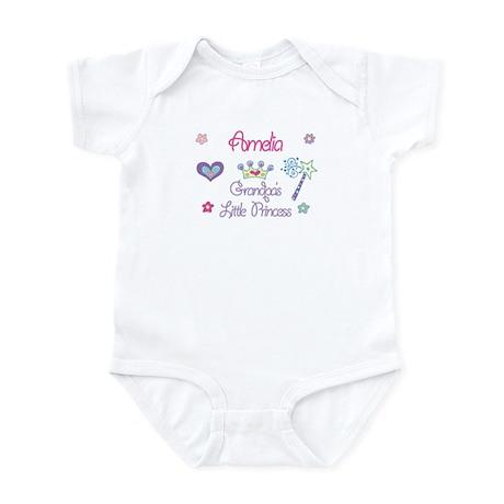 Grandpa's Princess Amelia Infant Bodysuit