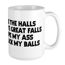 """Bye Bye Great Falls"" Mug"