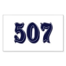 507 Rectangle Decal