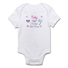 Grandpa's Princess Bailey Infant Bodysuit