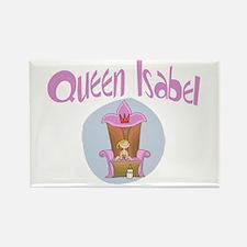 Baby Queen Isabel Rectangle Magnet
