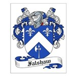 Falshaw Family Crest Small Poster